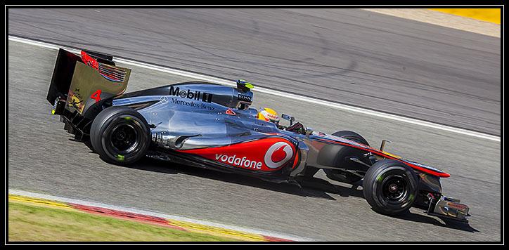 Spa Francorshamps Belgian Grand Prix Formula one 2012 McLaren Mercedes Lewis Hamilton
