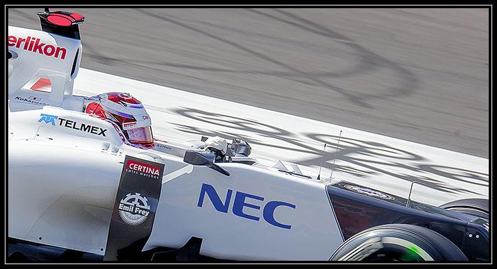 Spa Francorshamps Belgian Grand Prix Formula one 2012 Sauber Kamui Kobayashi