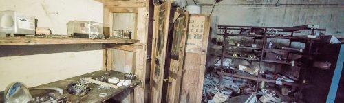 Abandoned factory in Czech